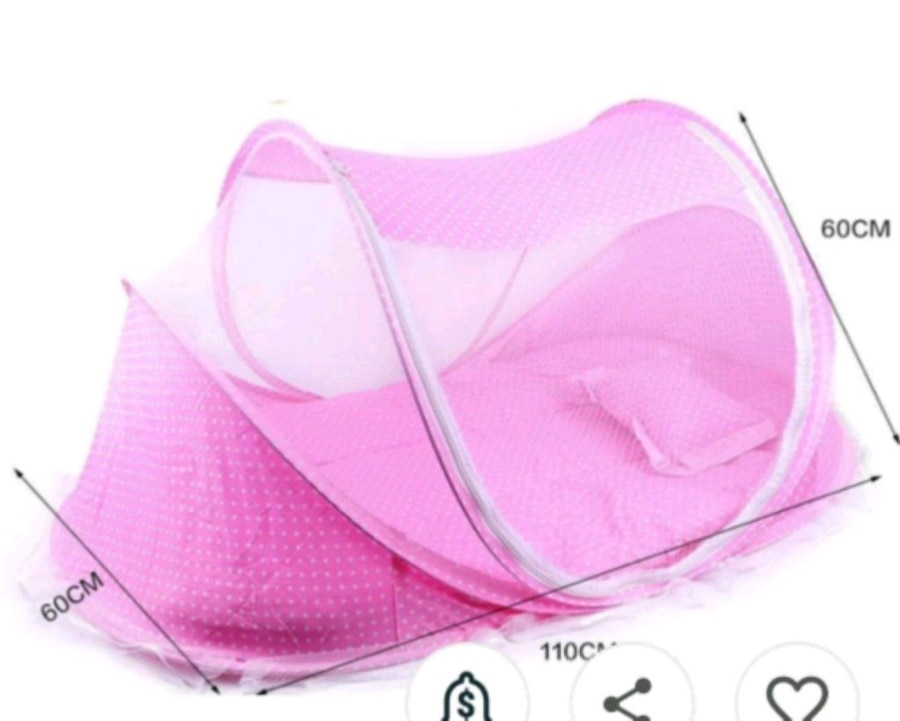 Photo Portable baby bed