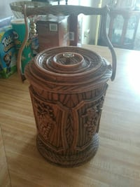 Vintage faux wood ice bucket  El Paso, 79902