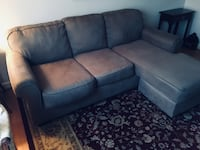 Beige sectional couch for sale immediately  Charlotte, 28205