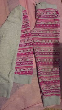 Pink and white tribal jogging suit  Sidney, 45365