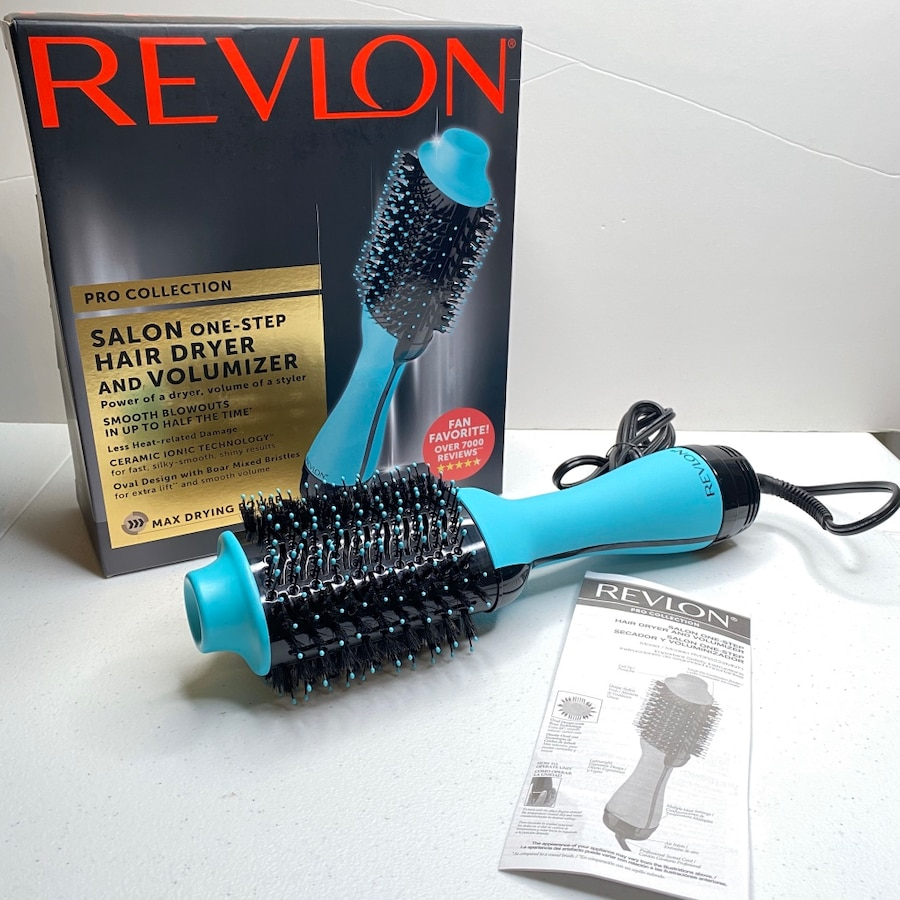 Photo Revlon Pro Collection Salon One-Step Hair Dryer and Volumizer Cool Tip