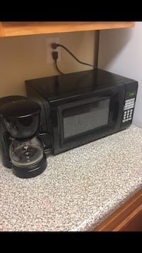 Black microwave and Coffee maker Woodbridge, 22191