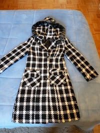 black and white plaid button-up jacket Vaughan, L4J 1A1