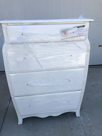 Brand new dresser set with minor imperfections see pictures and description  Sanger, 93657
