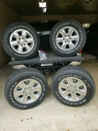 """18"""" gmc wheels and tires"""