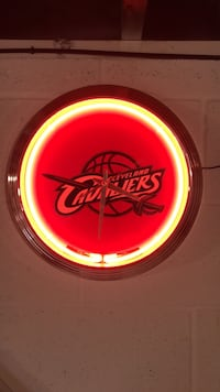 Cleveland Cavaliers Neon Wall Clock Middleburg Heights, 44130