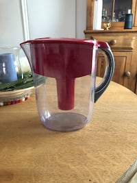 Red Family Size Brita  completely functional has a few scuffs and calcium that needs to be soaked out with vinegar please see pictures. Trade for something you're selling. Toronto, M4E 3C9