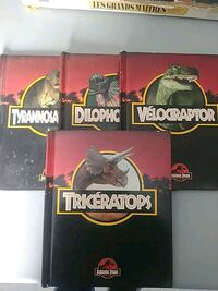 Jurassic oark old books