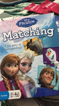 frozen matching game Mc Lean, 22102