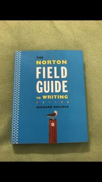Norton field guide to writing book Nelsonville, 45764