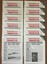 PERFORMANCE SHOOTER Magazines 12 Issues