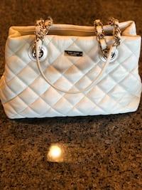 quilted white leather tote bag 2394 mi