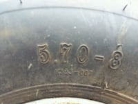 Trailer  tires (2) Cato, 13033