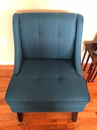 Beautiful blue chair (new) Gainesville, 20155