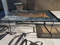 Patio Table with 6 chairs Fountain Valley