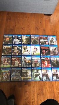 24 Ps4 games Mississauga, L5M 3W5