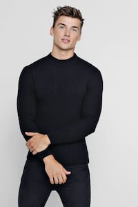 BOOHOO MEN MUSCLE FIT SWEATER SHIRT Toronto, M1K 5A7