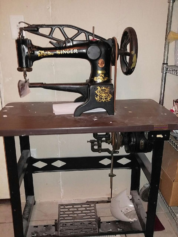 Used Stinger Industrial Leather Sewing Machine For Sale In Elk River Enchanting Industrial Leather Sewing Machines
