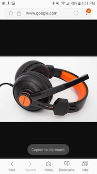 Blackweb gaming headset