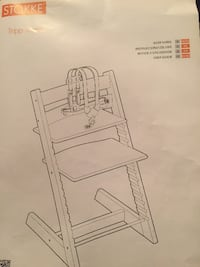 Stokke Tripp Trapp High Chair Mississauga, ON L5H, Canada