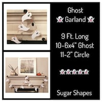 New Custom Ghost Garland Farmers Branch, 75244