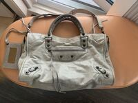 Authentic Balenciaga grey city bag with strap and mirror Burnaby, V5A 4G8