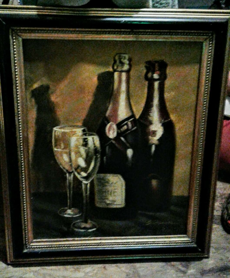 Letgo Wine Oil Painting In Dona Ana Nm