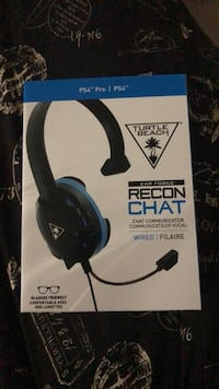 PS4 handphones recon chat