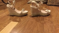 Size 8 Asos Wedges