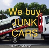 Junk cars  Whitman, 02382