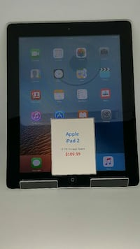 Apple iPad 2 16GB Comes with a 1 year warranty