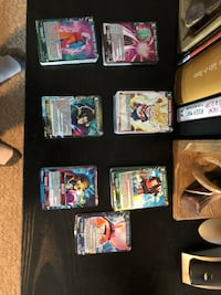 Dragon ball super card game, tones of rares(hundreds of cards) Kitchener, N2E 2S5