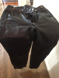 Ladies Leather Motorcycle Pants
