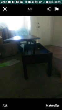 black wooden table with chair Oceanside, 92058