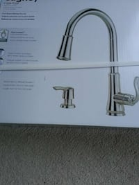 kitchen faucet, stainless,brand new in box Mississauga