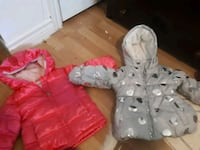 toddler's gray and red hoodie London, N5W 2R9