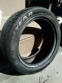 Goodyear tires - set of 4,  225/50 R17