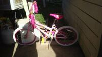 toddler's white and pink bicycle Fresno, 93702