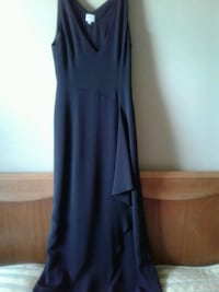 Armani long black Formal dress. Small size.