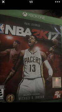 NBA 2K17 Xbox One game case Galena Park, 77015