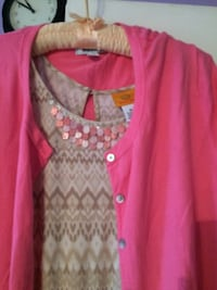 DRESS AND CARDIGAN,DRESS SIZE (XL),CARDIGAN(XXL)SMOKE FREE HOME  DRESS $25,CARDIGAN $15 ,OR SET $35 , Kitchener