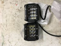 36 W triple row 4 inch driving lights