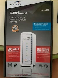 Cable modem  and wifi router 2064 mi