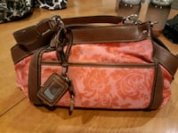Orange & Brown Handbag Victorville
