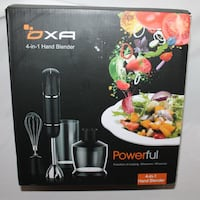 (boxed) Immersion Hand Blender Rockville
