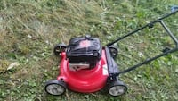 red and black push mower Windsor, N8T 1X3