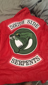 red south side serpents jacket cheryl blossom San Mateo, 94403
