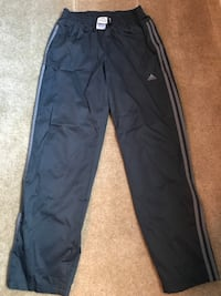 black and gray adidas track pants Sacramento, 95834