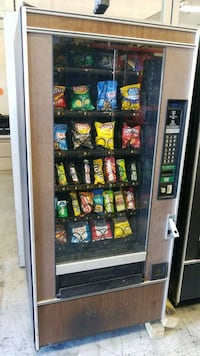As is blowout sale firm price snack vending machin Germantown, 20874