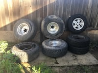Two sets of Jeep Wheels MUST SEE!!! Negotiable!! Sacramento, 95815